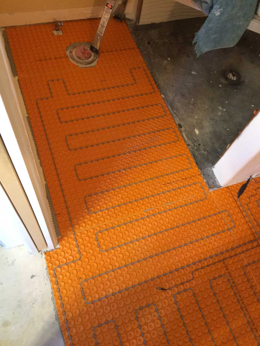A Nice Warm Floor For Your Bathroom Remodel Durango