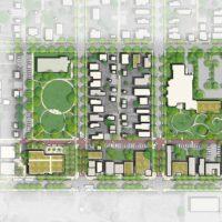 Durango Colorado Architecture Landscape Masterplanning Rendering Drawing Design