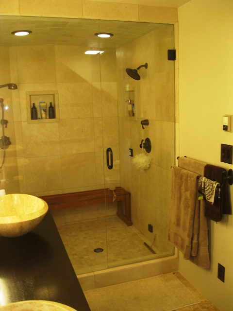 Deluxe two-person steam shower – Durango Custom Works, LLC