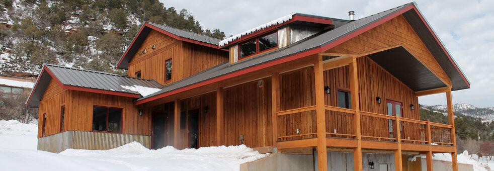Durango, Colorado, residential, single family, architecture, general contractor, durango contractor, wood, propanel roof, pro panel roof, pro-panel roof, design build, durango builder, custom home, deck